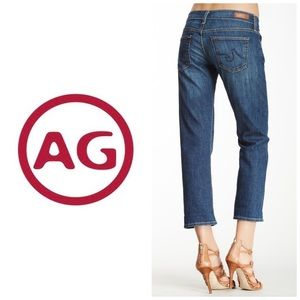 AG The Tomboy Crop Relaxed Straight Crop Jeans 👖